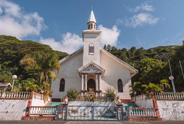 Tahiti Urlaub Kirche