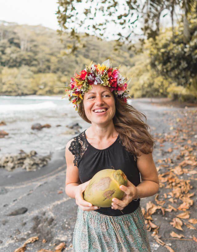Tahiti Urlaub Suedseeinsel Strand