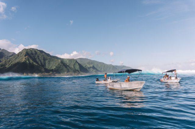 Tahiti Urlaub Teahupoo Bootstour