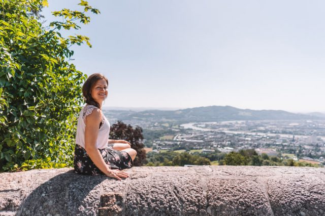 Linz Poestlingberg Aussichtsterrasse