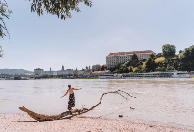 Linz Sehenswuerdigkeiten Donaustrand Alt Urfahr
