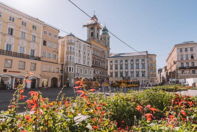 Linz Sehenswuerdigkeiten Hauptmarkt