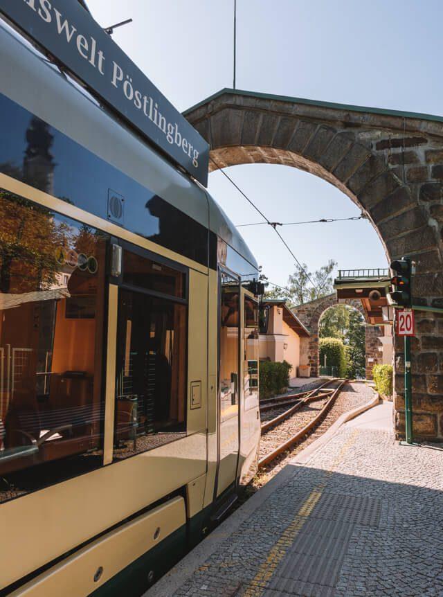 Linz Sehenswuerdigkeiten Poestlingberg Bahn