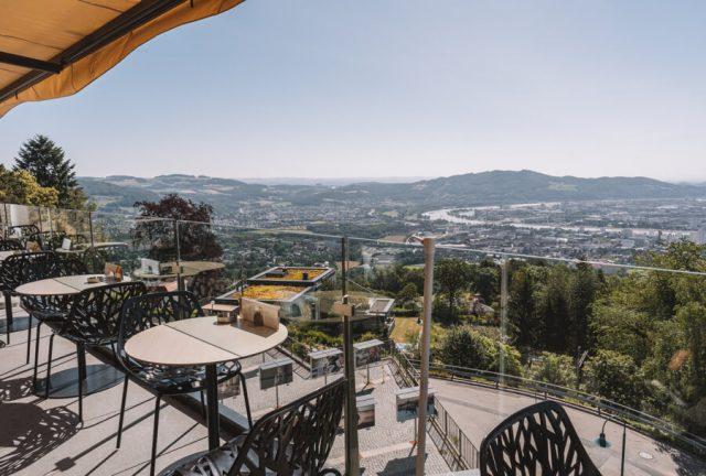 Linz Sehenswuerdigkeiten Poestlingberg Cafe Jindrak