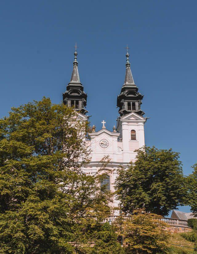 Linz Sehenswuerdigkeiten Poestlingberg Wallfahrtskirche