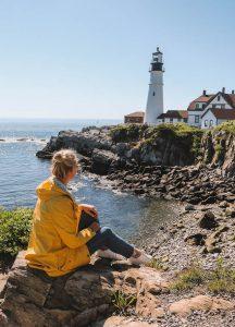 Maine Leuchtturm Neuengland Rundreise