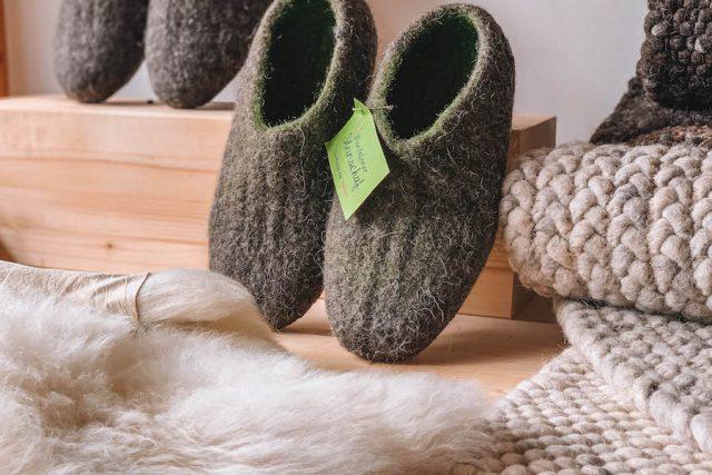 Montafoner Steinschafe Wolle