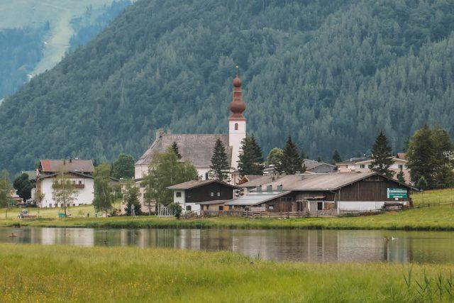 Pillersee Kirche