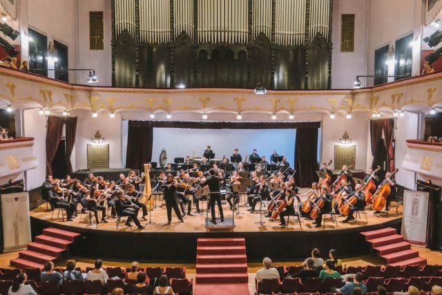 Rumaenien Rundreise Konzert Kulturpalast