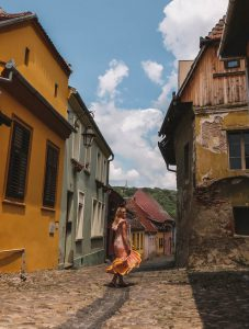 Rumaenien Urlaub Sighisoara Transsilvanien
