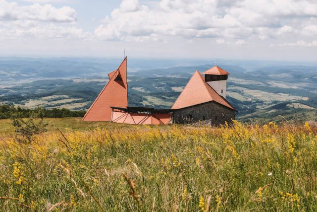Sovata Transsilvanien Offroad Jeeptour Kapelle