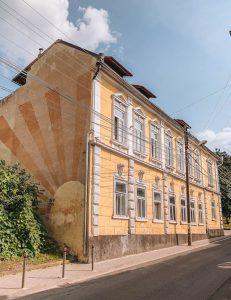 Targu Mures Gebaeude Transsilvanien