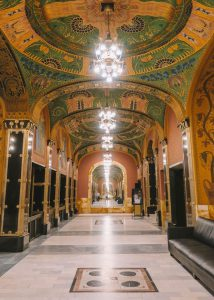 Targu Mures Kulturpalast Spiegelsaal