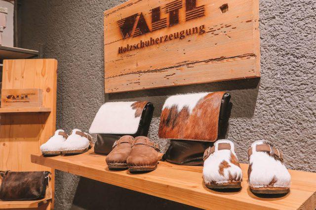 Waltl Holzschuhe Pillerseetal