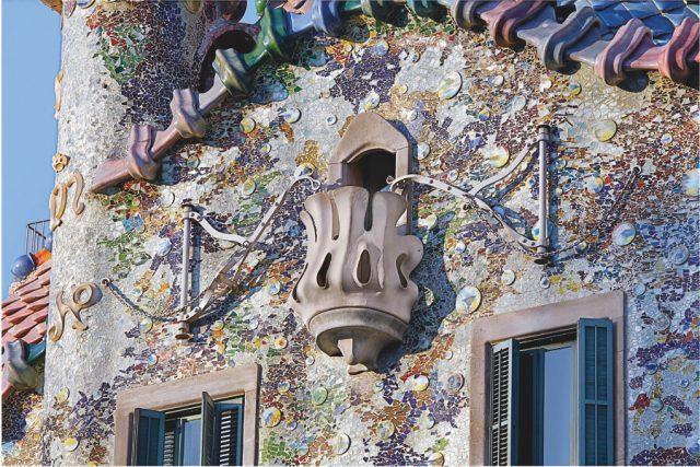 Casa Batllo Barcelona Balkon