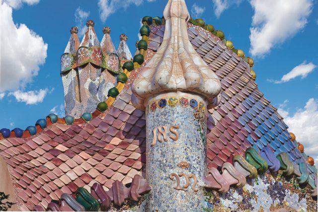 Casa Batllo Barcelona Dach Drachenschuppen