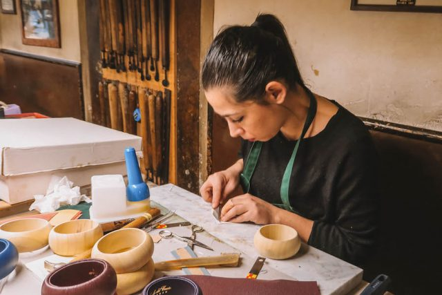 Florenz Sehenswuerdigkeiten Lederfabrik