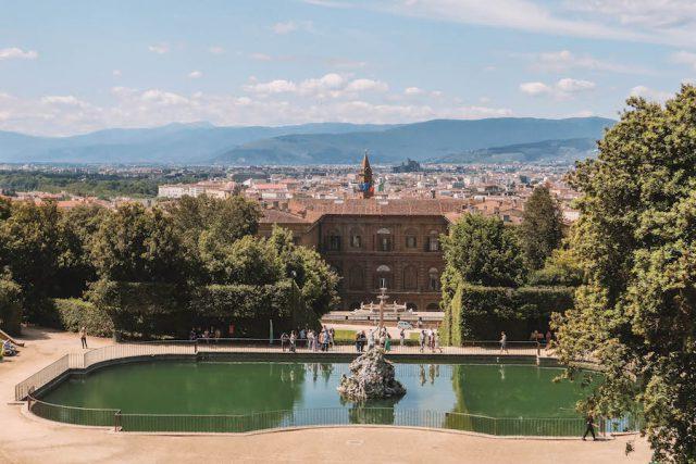 Florenz Sehenswuerdigkeiten Neptunbrunnen Boboli Gaerten