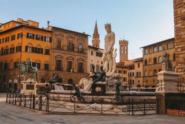 Florenz Sehenswuerdigkeiten Platz