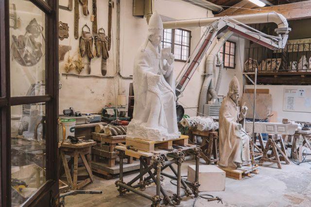 Florenz Sehenswuerdigkeiten Statuen Restauration
