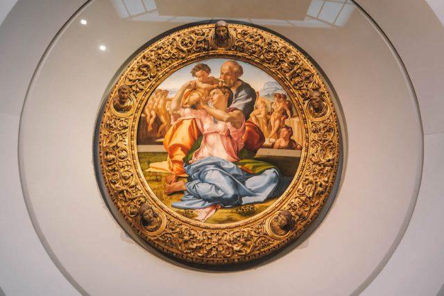 Florenz Sehenswuerdigkeiten Uffizien Leonardo da Vinci