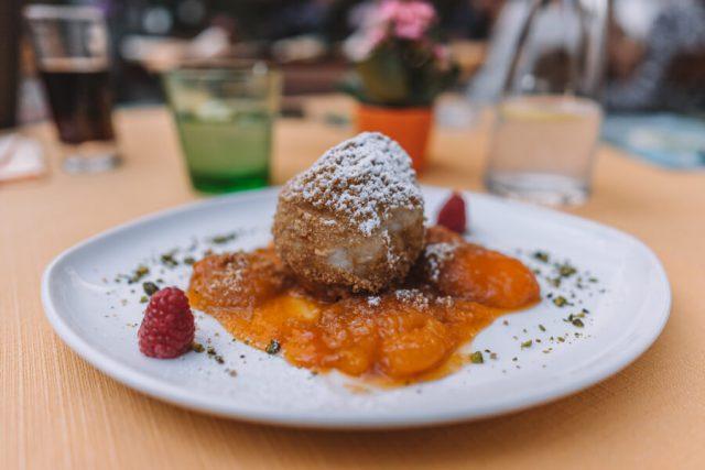 Linz Restaurant die donauwirtinnen Dessert