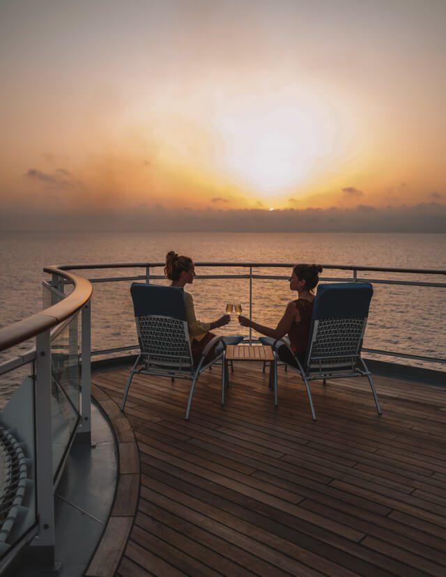 MS Europa 2 Hapag Lloyd Cruises Sundowner