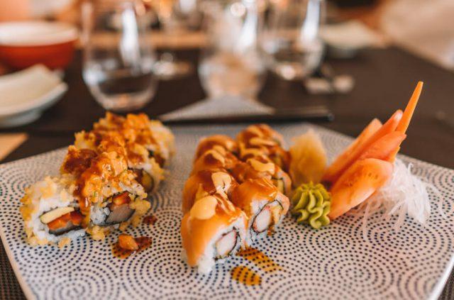 MS Europa 2 Restaurant Sakura Sushi