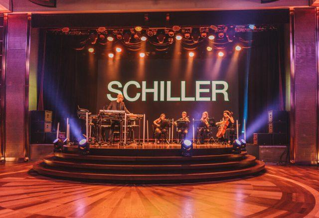 MS Europa 2 Schiller Konzert
