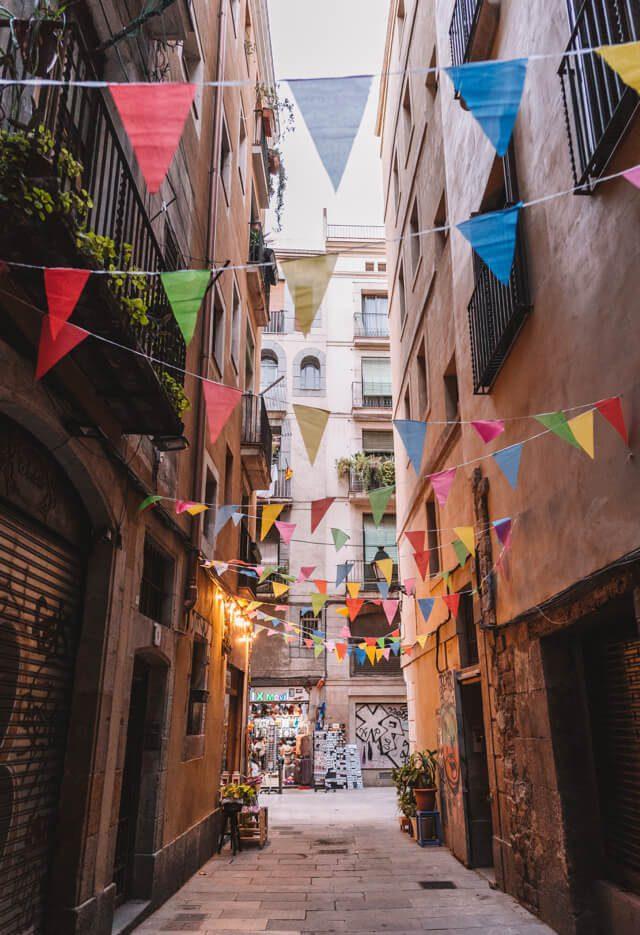 Mittelmeer Kreuzfahrt Barcelona El Raval