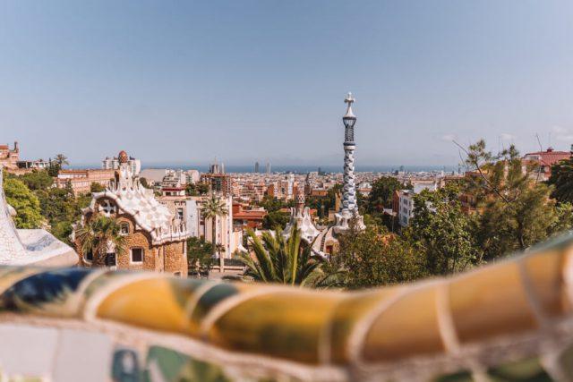 Mittelmeer Kreuzfahrt Barcelona Park Guell