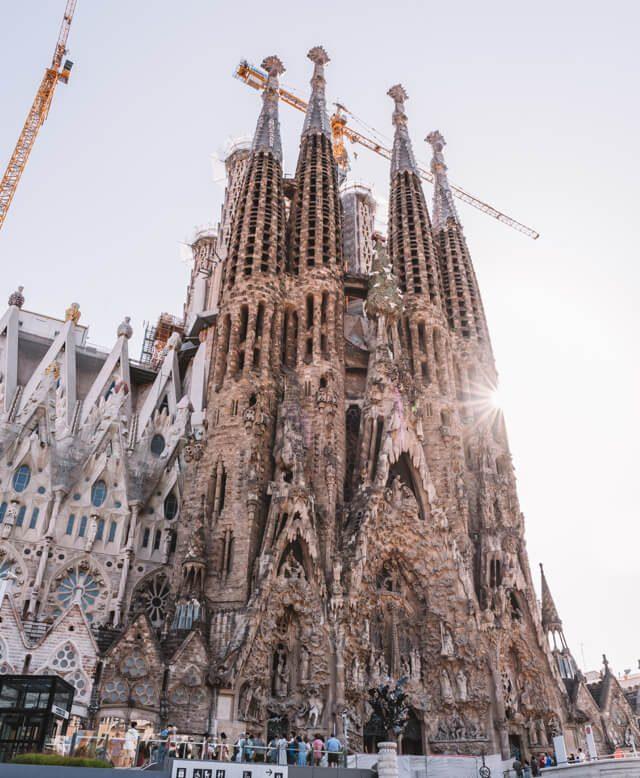 Mittelmeer Kreuzfahrt Barcelona Sagrada Familia