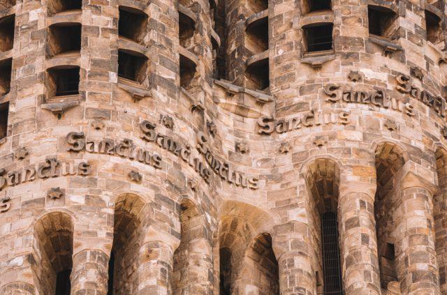 Mittelmeer Kreuzfahrt Barcelona Sagrada Familia Spanien