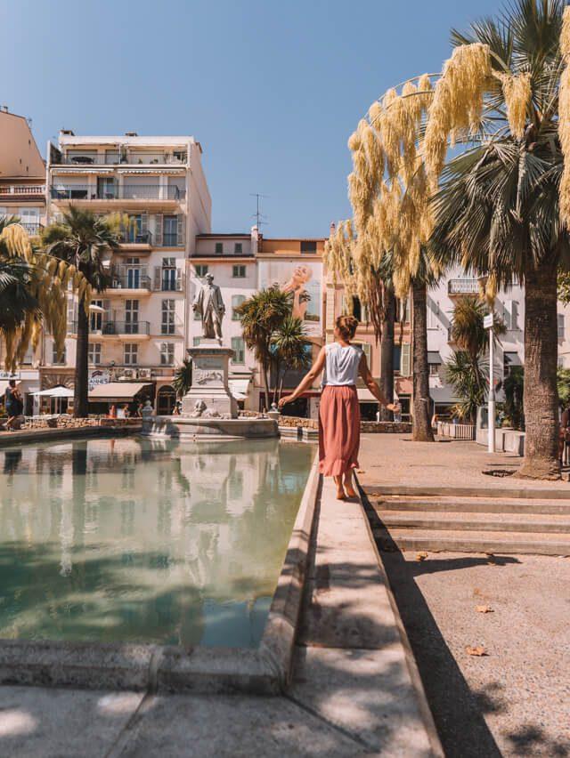Mittelmeer Kreuzfahrt Cannes Frankreich