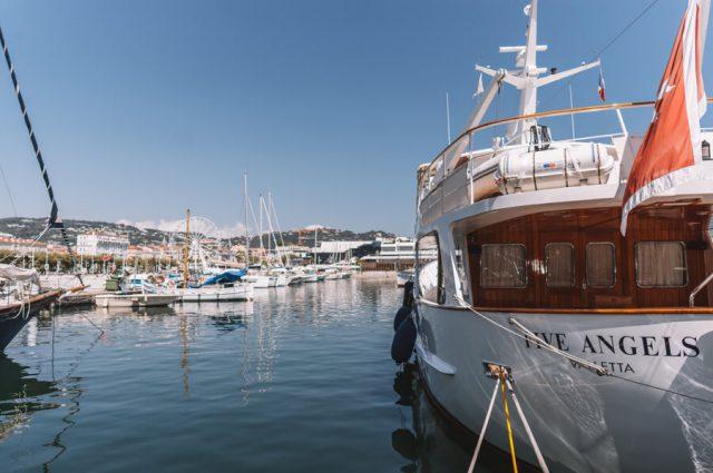 Mittelmeer Kreuzfahrt Cannes Hafen
