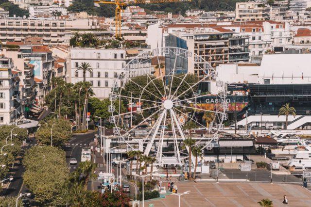 Mittelmeer Kreuzfahrt Cannes Riesenrad