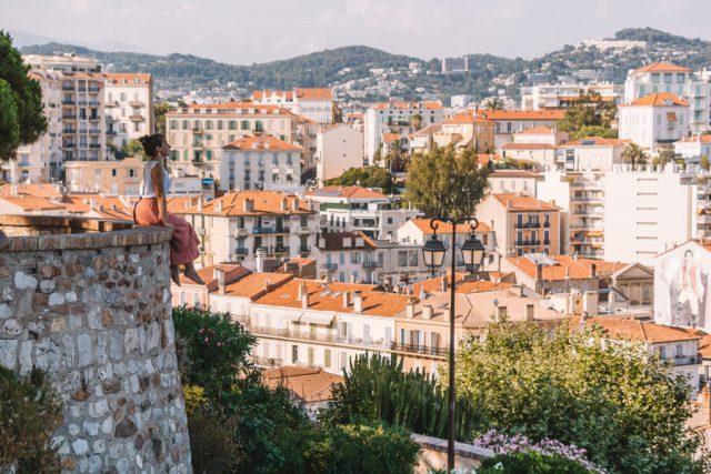 Mittelmeer Kreuzfahrt Cannes Suedfrankreich