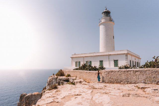 Mittelmeer Kreuzfahrt Formentera La Mola Leuchtturm