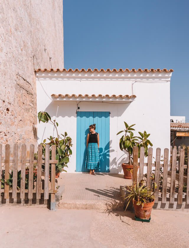 Mittelmeer Kreuzfahrt Formentera Sant Francesc Xavier