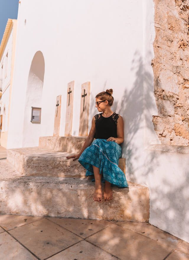 Mittelmeer Kreuzfahrt Formentera Sant Francesc Xavier Kirche