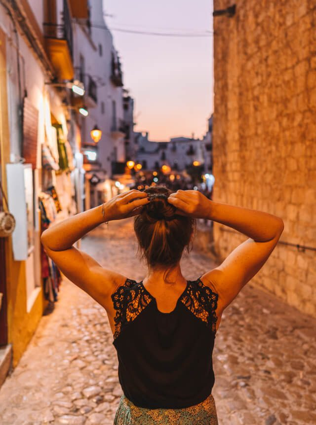Mittelmeer Kreuzfahrt Ibiza Stadt