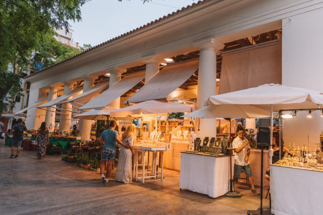 Mittelmeer Kreuzfahrt Ibiza Stadt Shopping