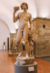 Nationalmuseum Bargello Florenz Sehenswuerdigkeiten Bacchus Michelangelo