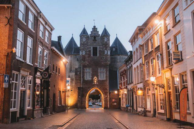 Nordbrabant Lievevrouwepoort Bergen op Zoom