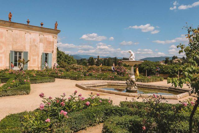 Porzellanmuseum Boboli Gaerten Florenz