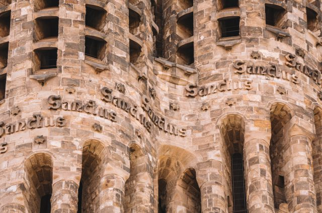 Sagrada Familia Barcelona Fassade