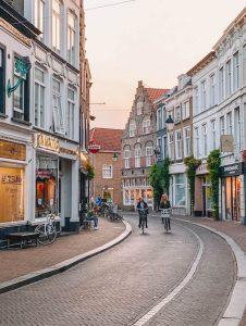 Strasse Breda Nordbrabant Amsterdam