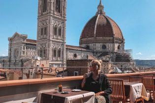View on art Florenz