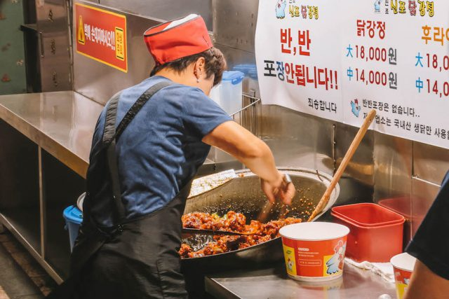 Incheon Markt Streetfood