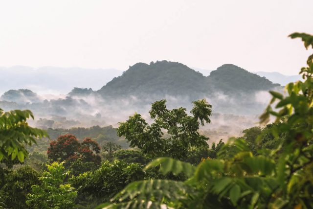 Jamaika Landschaft Berge